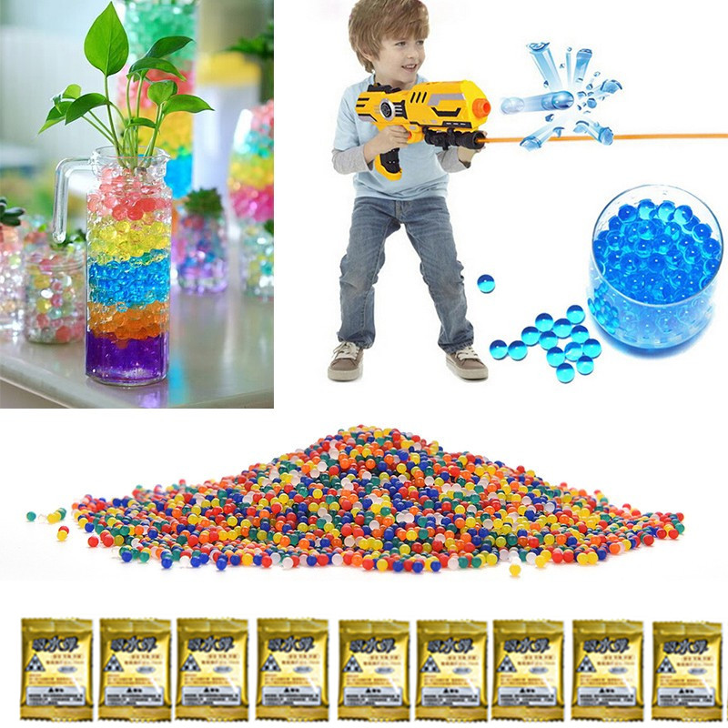 Pocket water bullets outdoor fun sports Water pistol Soft water font b toy b font gun