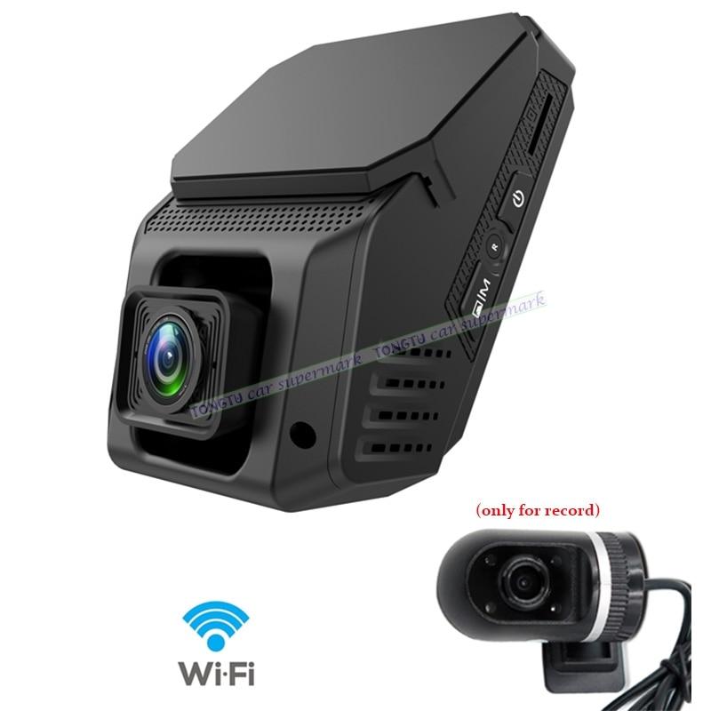 Mini WiFi Daul lens Car Dash Camera 1080P Novatek 96658 IMX323 Car DVR Recorder Support 24H Parking Monitoring/G-sensor for honda ridgeline novatek 96658 fhd 1080p car driving video recorder mini dvr wifi camera black box dash cam