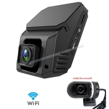 Mini WiFi Daul lens Car Dash Camera 1080P Novatek 96658 IMX323 Car DVR Recorder Support 24H Parking Monitoring/G-sensor