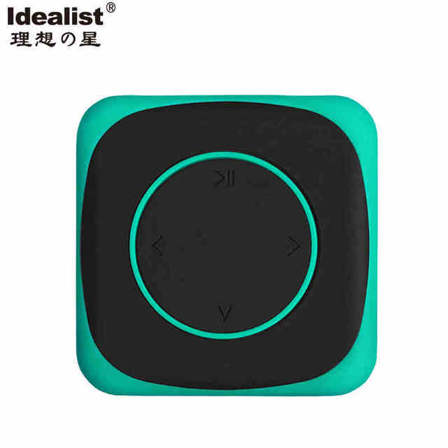 2017 Idealista Ultra Delgado Reproductor de MP3 8G Mini Jugador de MP3 Del Deporte Impermeable de Silicona Anti-sudor MP3 Con el Clip Correa de brazo Para Auriculares