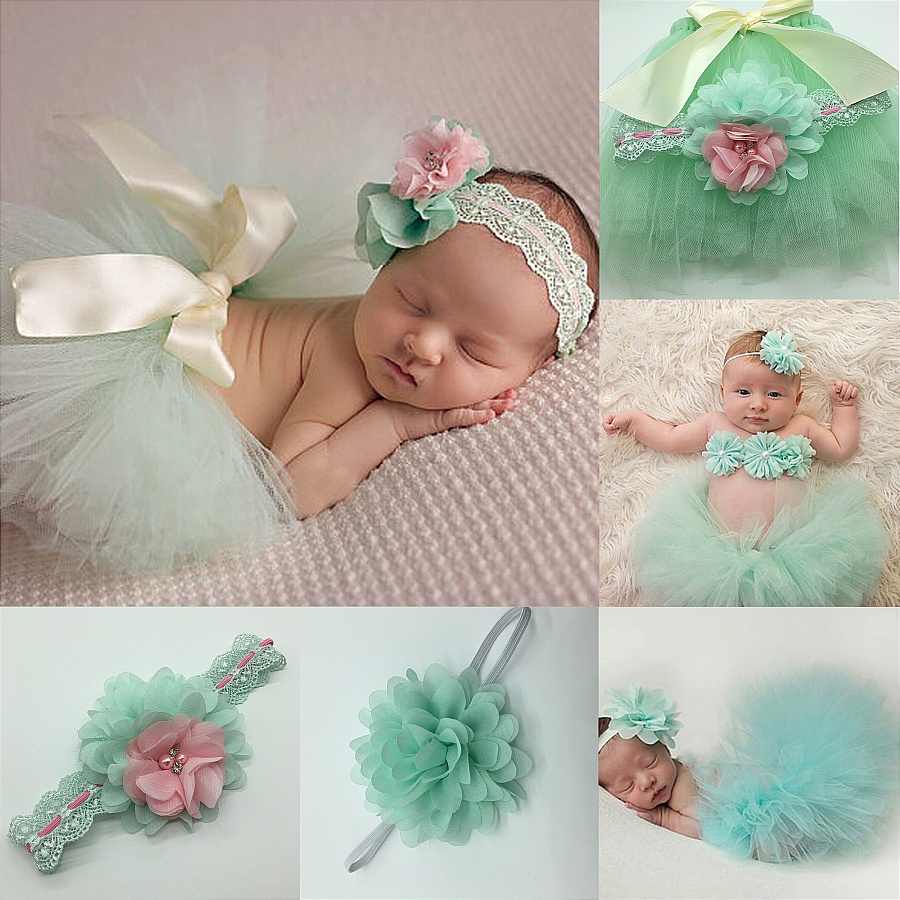 Newborn Photography Props Infant Costume Outfit Cute -5206