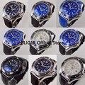 Спортивные мужские наручные часы BLIGER  9 моделей  44 мм  с большим лицом  с керамическим ободком  светящиеся марки  автоматические часы