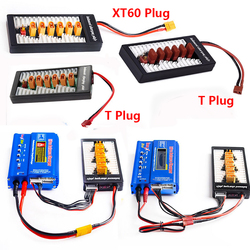 2 S 6 S Lipo równoległa zrównoważona płytka ładująca XT60 wtyczka T wtyczka do ładowarki RC B6AC A6 720i równoległa płyta ładująca w Ładowarki od Elektronika użytkowa na