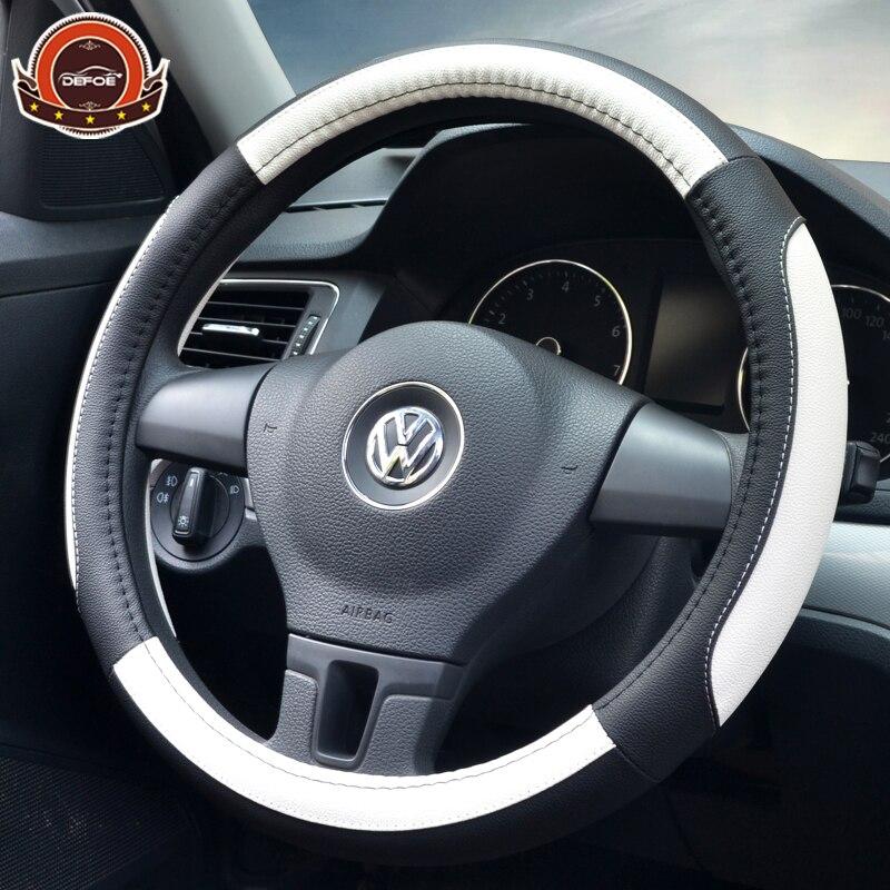 Neue stil auto lenkradabdeckung auto styling Atmungsaktive anti slip lenkung-rad Micro Fiber Leder material freeshipping