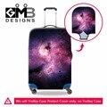 Galaxy эластичный тележки для багажа защитные чехлы прозрачный спандекс камера охватывает чемодан чехол От Дождя для девочек путешествовать accssories