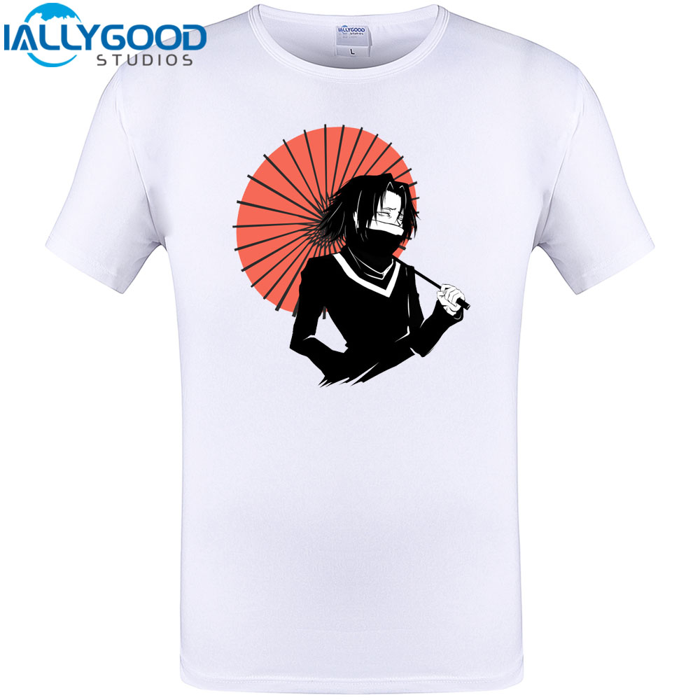 Hunter X Hunter Cool Design T-Shirt Summer Men Short Sleeve Tops Cotton Funny Print Tee Shirts Plus Size New Arrival S-6XL