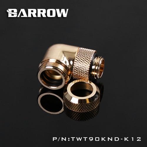 Barrow TWT90KND-K12 / TWT90KND-K14, 90 dərəcə dönərli sərt boru - Kompüter hissələri - Fotoqrafiya 4