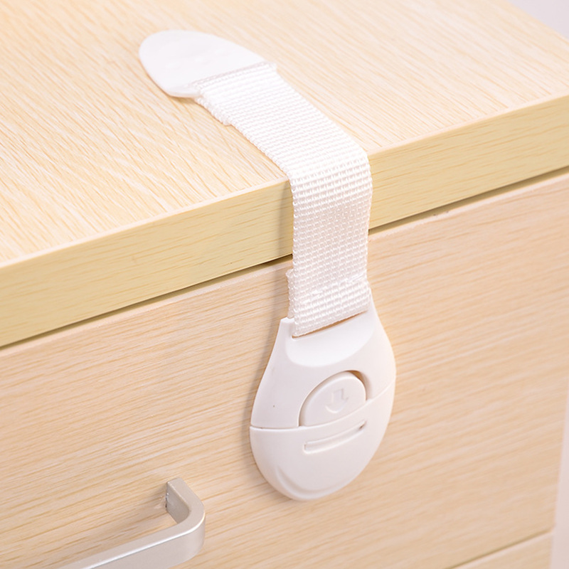 4pcs/set Baby Drawer Lock Children Security Protection For Cabinet Toddler Child Safety Lock Refrigerator Window Closet Wardrobe