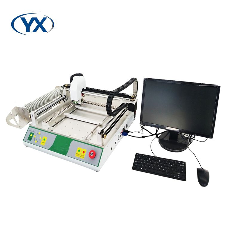 Low Price High Placement Automatic PCB Printing Machine with 46 Feeders/SMDLED Soldering Machine/LED Making Machine