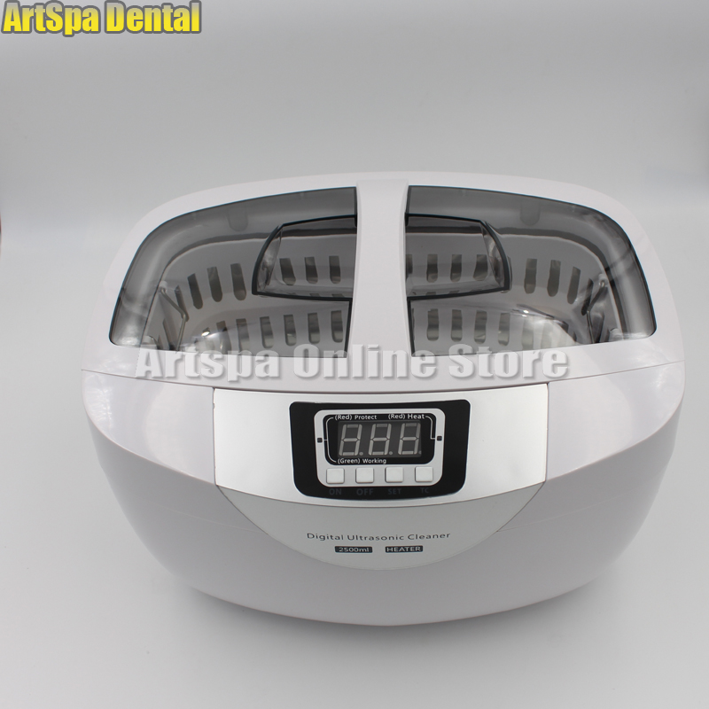 2.5L Digital Ultrasonic Cleaner Tattoo Dental Jewerly Stainless Steel Tank Timer 15l stainless steel digital ultrasonic cleaner with timer and heater including washing basket