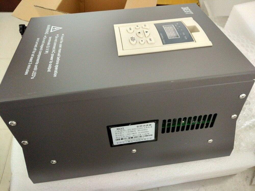 BEST 11kw 15HP 1000HZ VFD Inverter Frequency converter 3phase 380v input 3phase 0-380v output 24A for Engraving spindle motor sv008igxa 4 frequency converter 0 75kw 3phase 380v new
