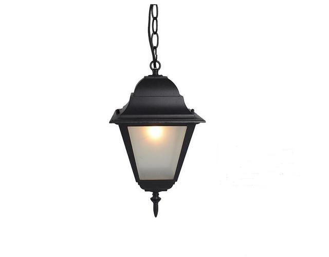 Lampade A Sospensione Allaperto : Luci esterne impermeabile esterno ha condotto lampadari vintage