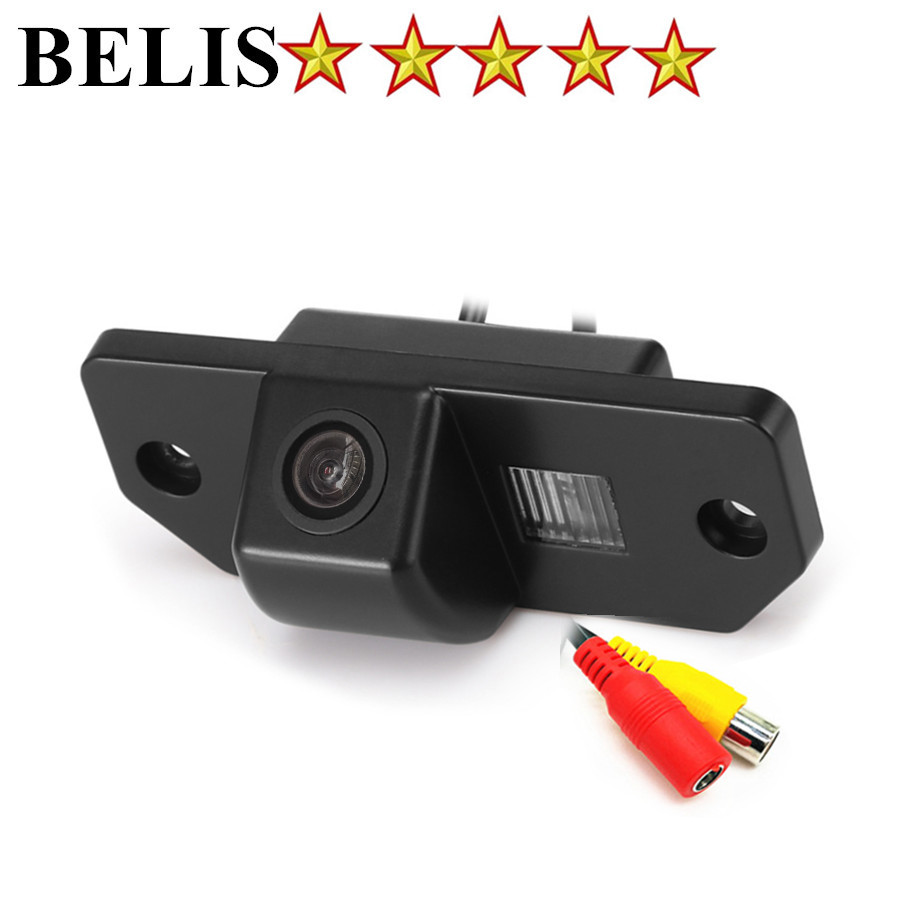 Waterproof Night vision CCD Parking backup reverse rear view camera rearview Camera for Ford Focus 2 sedan (2005-2011) C-Max dynamic trajectory tracking auto backup parking reverse camera rearview rear view reversing parking camera for ford focus 2012