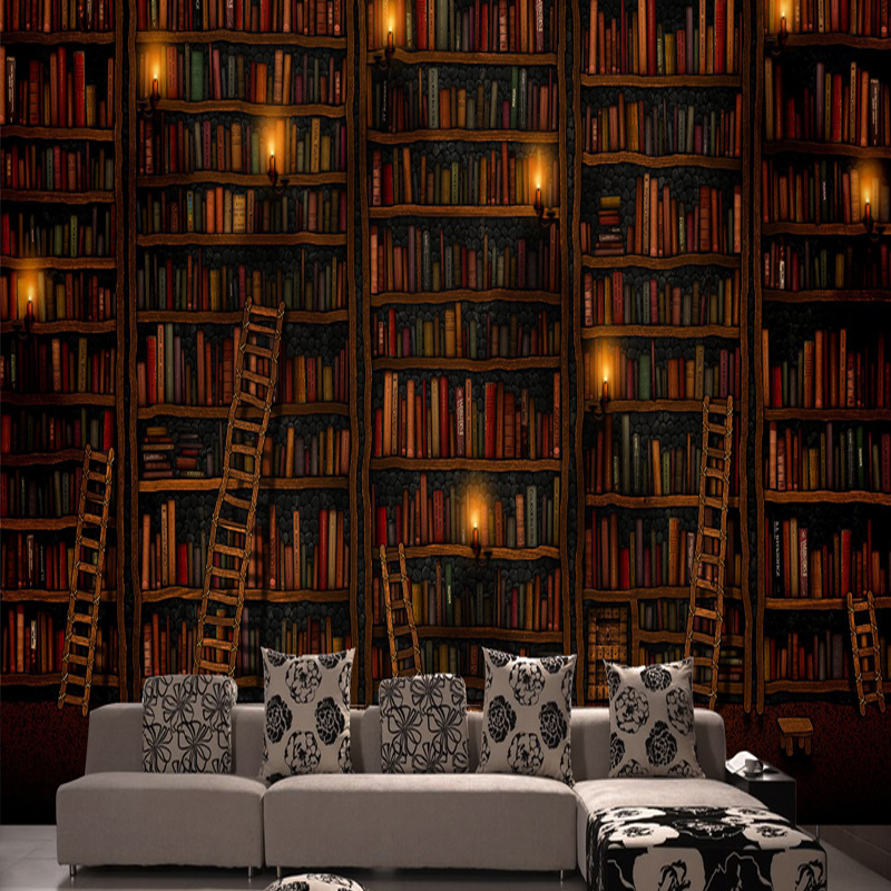 can be customized fresco art large big Mural wall paper 3d wallpaper bedroom decoration cafe bar vintage bookcase wall covering can customized cartoon dream animal fairy tale girly kids room large 3d mural wallpaper wall paper fresco dinning room bedroom
