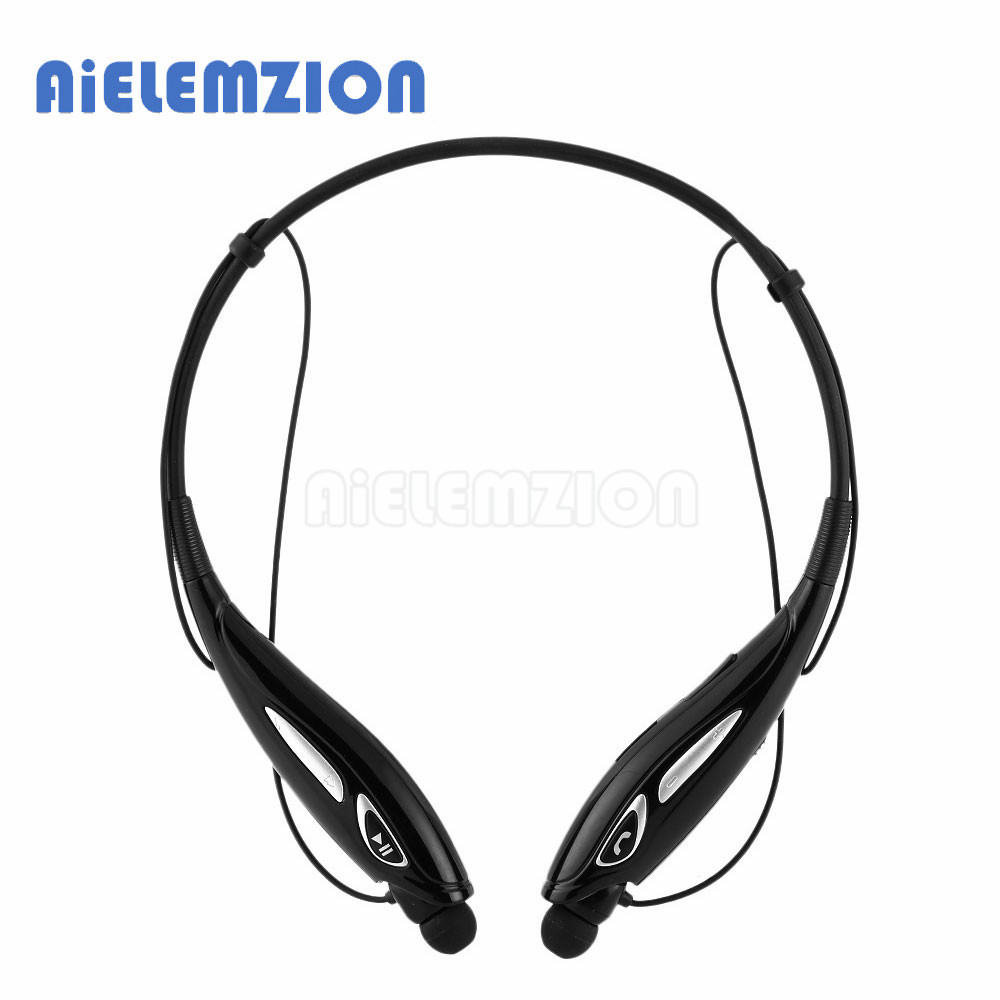AiELEMZION TF-790 Wireless Bluetooth Sports Neckband Earphone Handsfree In-Ear Stereo Headset with Microphone Supoort TF Card FM