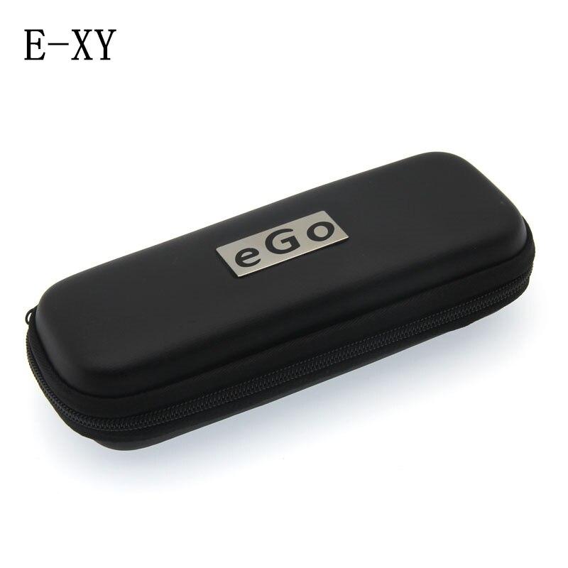 E-XY allonger étui en cuir moyen Ego avec fermeture à glissière EGO Portable sac étui boîte-ego accessoires de cigarettes électroniques