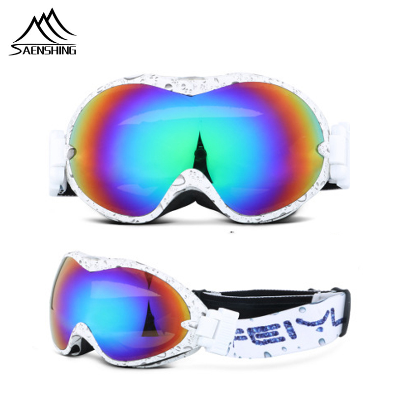 Double Lens Ski Goggles Men Unisex Professional Snowboard Goggles Winter Motocross Snow Glasses Anti-fog Ski Eyewear