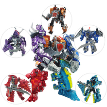 Deformation Robot Anime Action Figures Model Plastic 1PCS 20cm Height Transformation Toys Dinosaur Toys For Children Gifts 19cm height transformation deformation robot toy action figures toys with original box jj616c