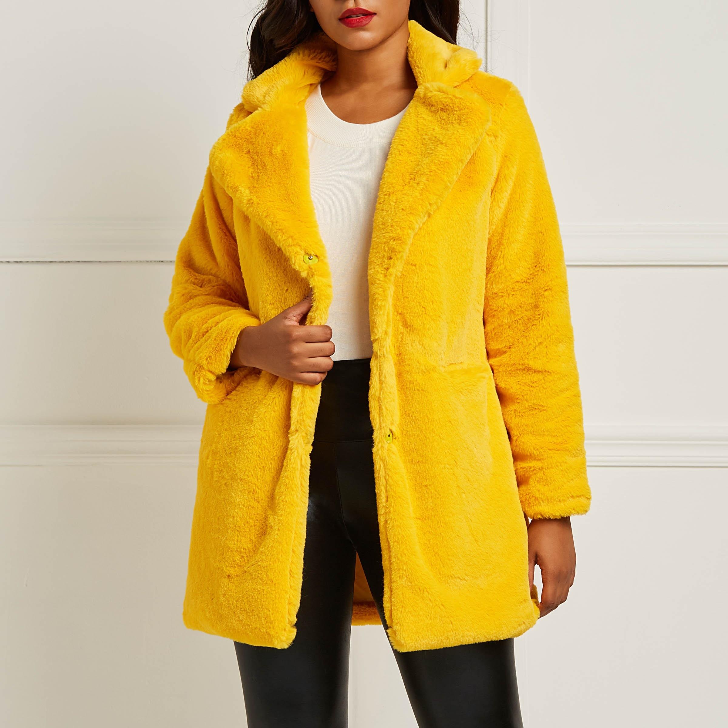 buy clocolor teddy coat plush 2018 winter. Black Bedroom Furniture Sets. Home Design Ideas