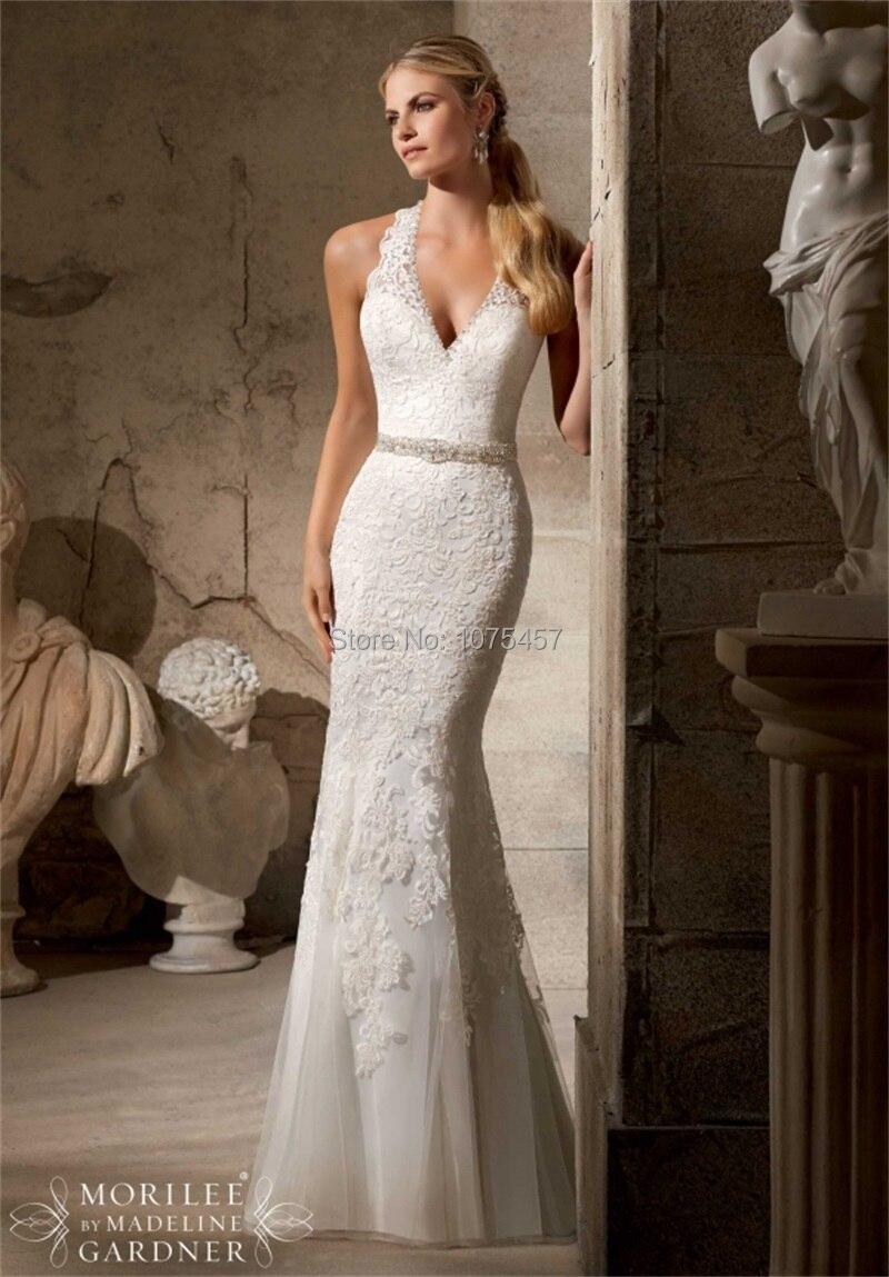 lace halter wedding gowns halter top wedding dresses Beaded Lace Halter Wedding Dress By Camille La Vie
