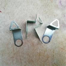 1000 ADET Metal Kuvars Saat Kanca Kuvars Saat Hareketi Mekanizması Askı DIY duvar saati