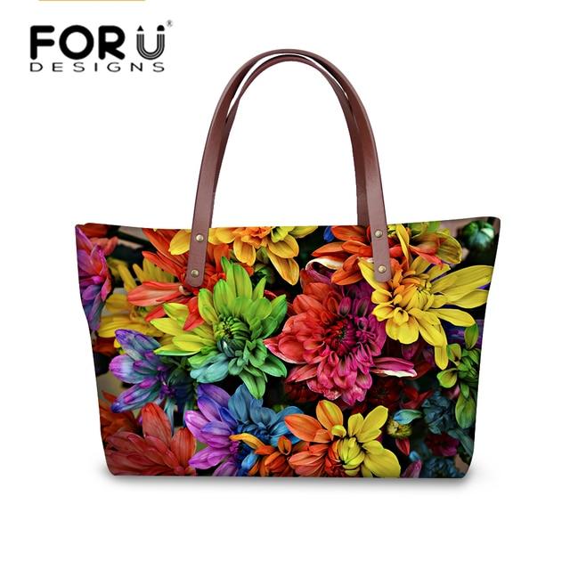 Pretty fancy flower women handbags casual large women s shoulder bag famous  brand top-handle bags