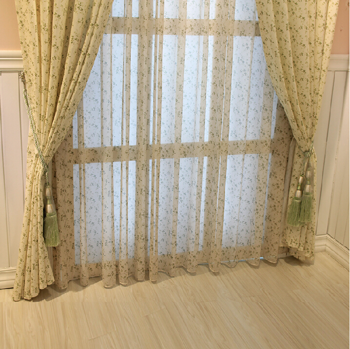 7stories Cotton Past Green Finished Western Style Modern Curtain Bedroom Living Room Curtains Custom Atmosphere Window Cloth In From Home