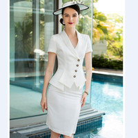 2019 роскошное летнее тонкое платье карандаш с коротким рукавом, офисное элегантное Формальное Деловое платье для работы, облегающие белые п