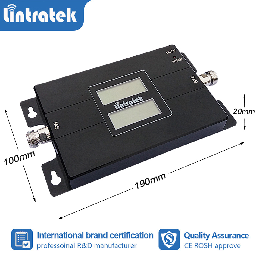 Image 3 - lintratek 2G 3G 850 1900 GSM 850 PCS 1900MHz Cellular Signal  Booster  Repeater Band 2 UMTS 1900 CDMA 850 Amplifier Repetidor  #8Signal Boosters