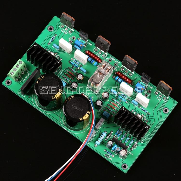 UPC1342V Push Field Tube K1058/J162 100W*2 Dual Channel HiFi Power Amplifier Finished Board