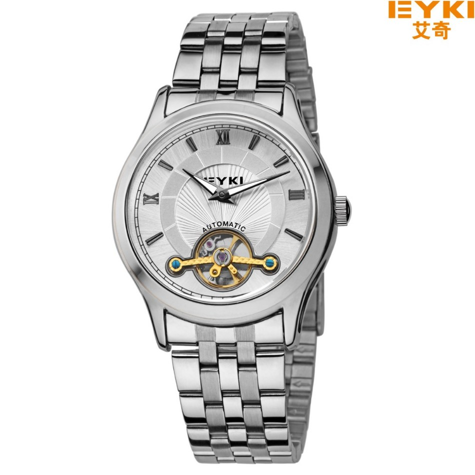Men s Luxury Mechanical Wristwatches EYKI Top Brand Fashion Casual Wristwatch Hollow out Men s Dress