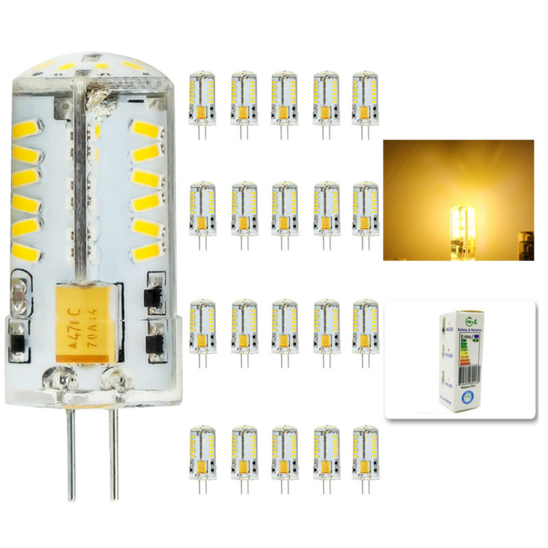 20Pcs/lot 2015 Cree Hot Sale 57LED lamp G4 corn Bulb AC DC12V 8W SMD 3014 LED light 360 degrees Beam Angle spotlight lamps bulb