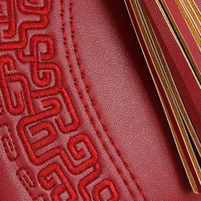 Mulheres Marca Saco Shell em relevo Estilo Chinês Do Vintage Da Moda PU de Couro Das Mulheres Bolsa Das Senhoras Sacos de Ombro Totes Bolsas Femininas