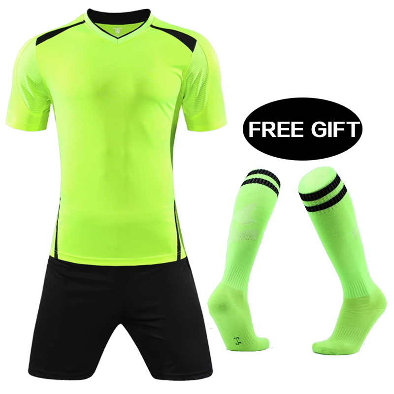 8601c28eedd survetement football 2018 2019 children soccer jerseys maillot de foot  training football shirt Futbol uniforms Mens soccer set