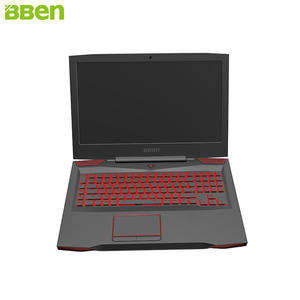 BBEN Laptop Gaming Computer NVIDIA Intel I7 7700HQ G17 GTX1060 Windows-10 GDDR5 SSD HDD