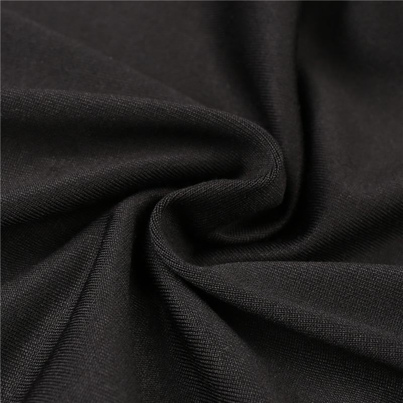 HTB1GK25RVXXXXb XpXXq6xXFXXXH - Stripe sexy side cross line Black Hole pants JKP158