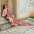 Новый пункт пряжи Бали шарф платок длинный шарф ситец шарф, шаль