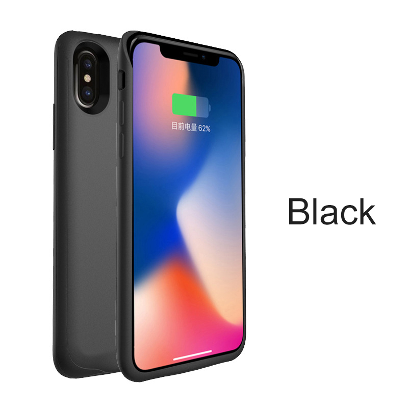 For Iphone X Battery Charger Case Charging Cases Cover 4000mah Portable Power Bank External Pack Battery Case For Iphone X Battery Charger Cases Aliexpress