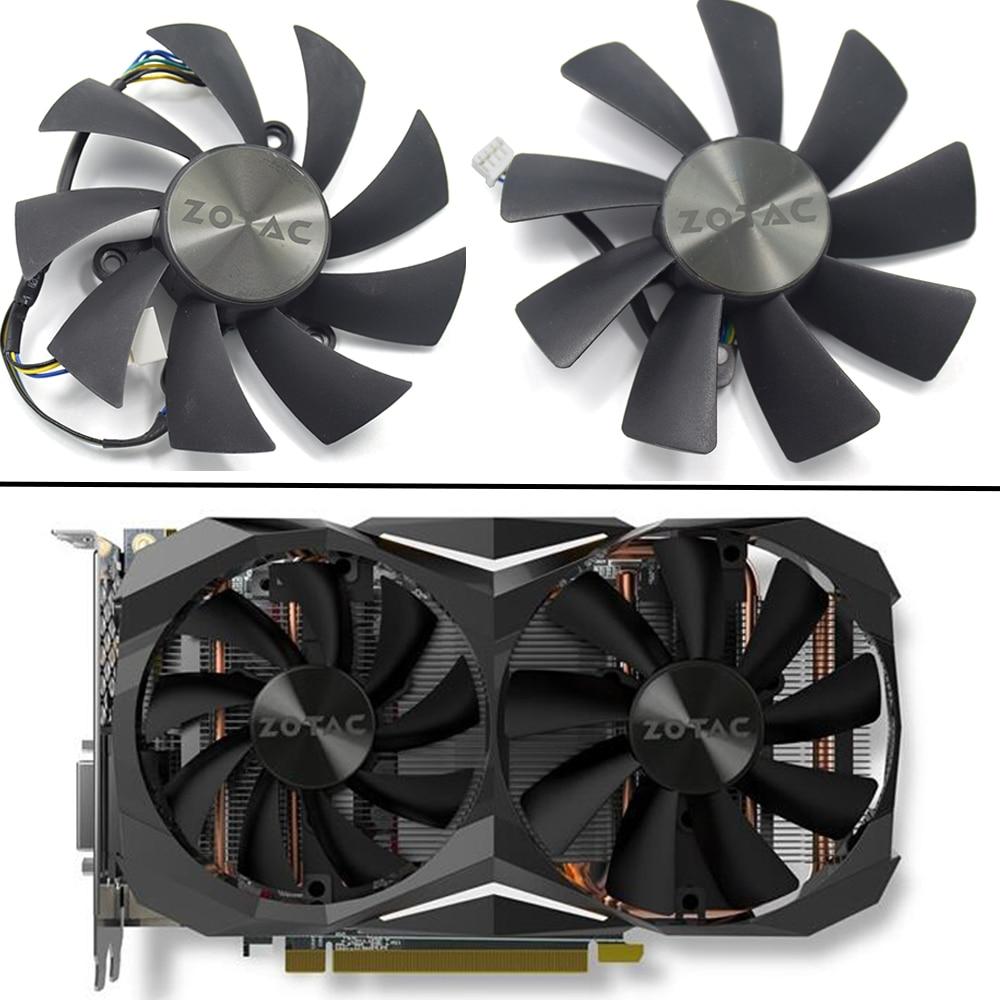 87MM GA92S2H 100MM GAA8S2H GAA8S2U 4Pin Cooler Fan For ZOTAC GTX 1060 1070 Ti MINI HA 1080 Ti MINI Dual Graphic Card Cooling Fan клипарт загрузка
