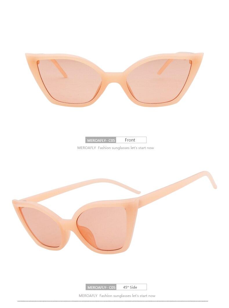 Beautiful New Lvvkee Cat Eye Women Sunglasses 2018 Uv400 Designer Brand Classic Rose Gold Frame Sun Glasses Men Elegant Korean 18 Colored Women's Glasses