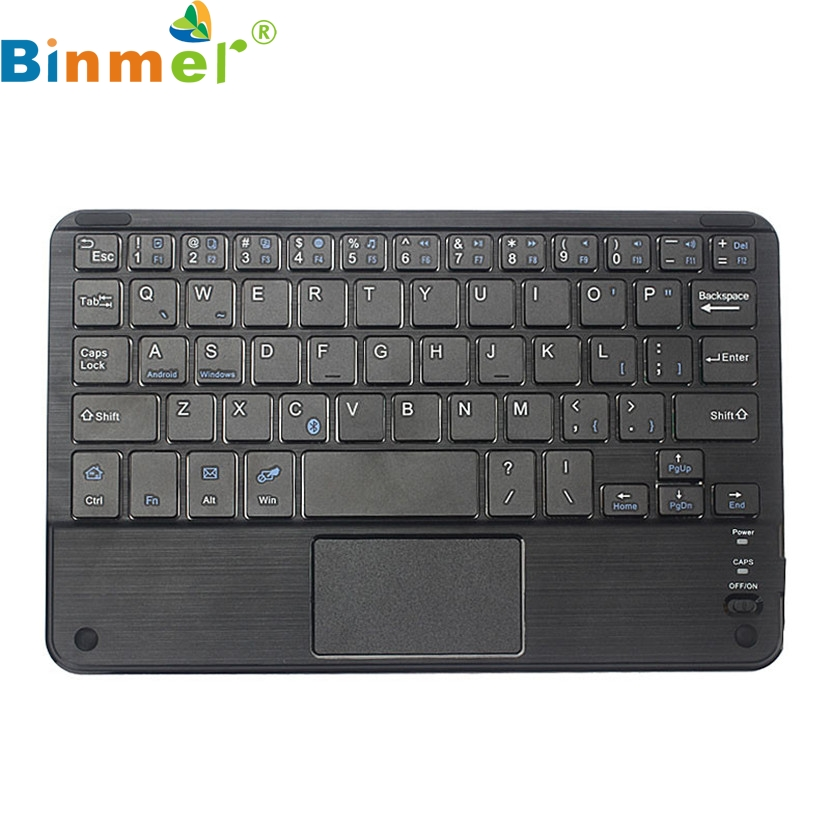 Binmer Mecall Wireless Bluetooth Keyboard w/ Touchpad For All 7-10 inch Android Windows Tablet