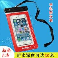 Telefon Su Geçirmez Çanta Iphone Sürüklenme Dalış Takım Apple SaLadyung Darı Su Geçirmez Telefonu Torbalama A5234