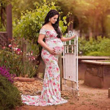 Plus size Maternity Dress 2018 Pregnancy Clothes Pregnant Women Lady Elegant Vestidos Formal Party Dress Photography Photo Shoot