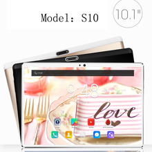 New S10 2.5D Glass Capactive screen Tablets 4G LTE Android 7.0 64GB Deca Core 8MP Camera GPS Wifi Bluetooth Phone Call Tablet pc