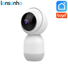 Lonsonho Wireless Smart Wifi IP Camera 1080P 2MP Tuya Life Two Way Audio Night Vision Motion Sensor Home Security