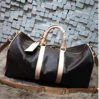 2018 Новая модная дорожная сумка женская сумка большого размера keepall сумка из натуральной кожи с высоким качеством Бесплатная доставка