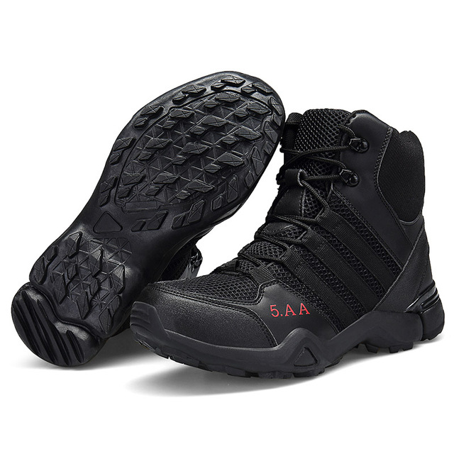 Outdoor Men Woman Hiking Shoes Waterproof Breathable Tactical Combat Army Boots Desert Training Sneakers Anti-slip Trekking Shoe