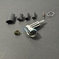 Rcexl tampas e botas de vela de ignição  para ngk-cm6 10mm 90 graus 120 graus  1 peça