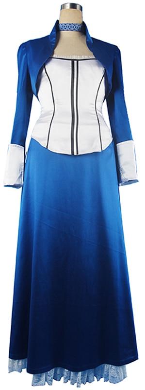 Bioshock Infinite Elizabeth Costume Hollaween Cosplay  Fancy dress Women Girls Xmas Valentine's  Gift