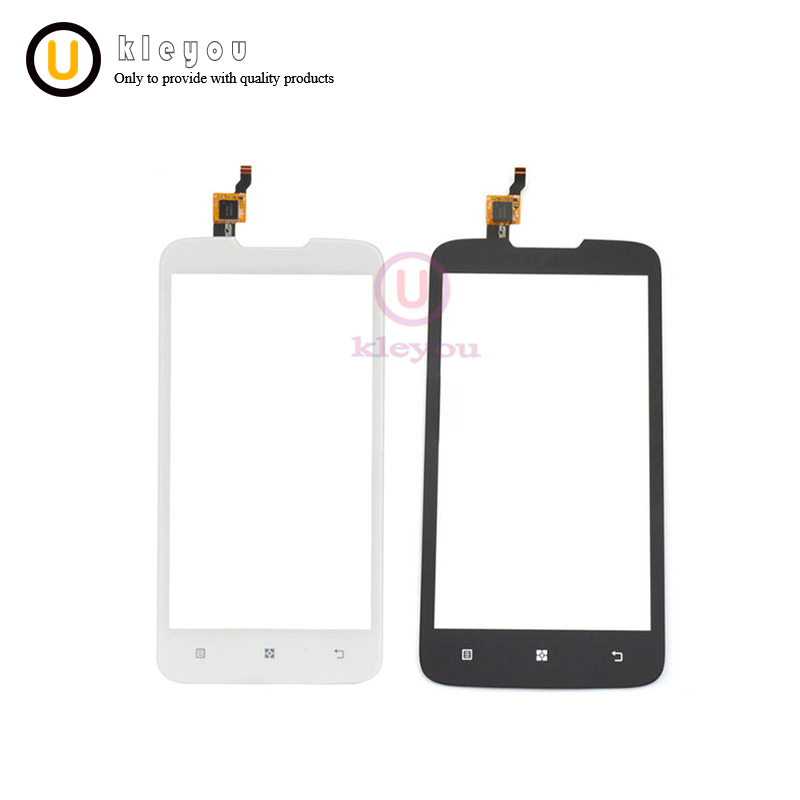 5.0 A680 Touch Screen for Lenovo A680 Touch Screen Digitizer Sensor Front Glass Lens Panel Black White Mobile Phone Parts